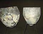 Ceramic vessels. Neolithic. Head-Volga culture. Site Zamostye-2.