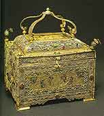 Reliquary. Russia. Late 17th – first half of the 18th century. Donated in 1789 by Metropolitan Platon (Levshin) of Moscow and Kolomna