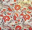 Sample of printed textiles. 18th century. Flax. Printed textiles